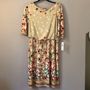 Shelby and Palmer print dress